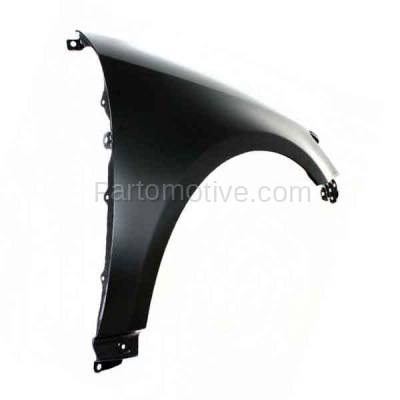 Aftermarket Replacement - FDR-1749RC CAPA 2011-2016 Scion tC (2-Door Coupe) 2.5L Front Fender Quarter Panel (without Molding Holes) Primed Steel Right Passenger Side - Image 3