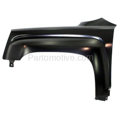 Aftermarket Replacement - FDR-1752LC CAPA 2010-2017 GMC Terrain (2.4 & 3.0 & 3.6 Liter Engine) (Models with 3 Mounting Holes) Front Fender Quarter Panel Steel Left Driver Side - Image 1