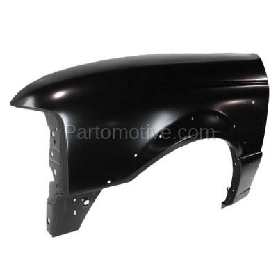 Aftermarket Replacement - FDR-1601LC CAPA 1998-2003 Ford Ranger Pickup (2WD & 4WD) Front Fender Quarter Panel (with Wheel Opening Molding Holes) Steel Left Driver Side - Image 2