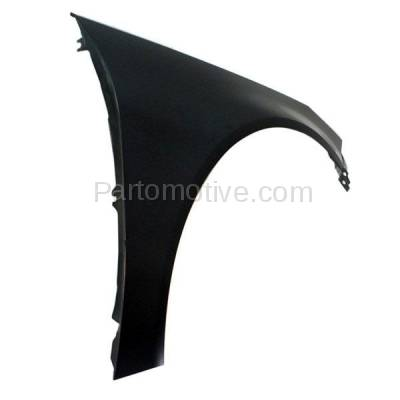 Aftermarket Replacement - FDR-1614RC CAPA 2012-2017 Buick Regal (2.0L & 2.4L Engine) Front Fender Quarter Panel (without Turn Signal Lamp Hole) Primed Steel Right Passenger Side - Image 2