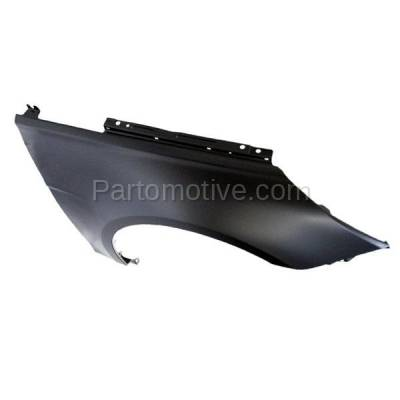 Aftermarket Replacement - FDR-1696RC CAPA 2011-2014 Hyundai Sonata (Sedan 4-Door) Front Fender Quarter Panel (without Molding & Turn Signal Light Holes) Primed Right Passenger Side - Image 2