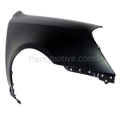 Aftermarket Replacement - FDR-1539RC CAPA 2006-2008 Kia Magentis & Optima (2.4 & 2.7 Liter Engine) Front Fender Quarter Panel (without Molding Holes) Steel Right Passenger Side - Image 2