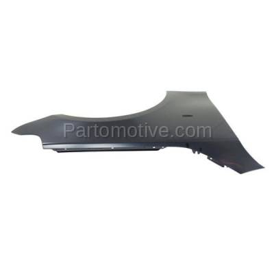 Aftermarket Replacement - FDR-1024R 2004-2010 BMW 5-Series (Sedan & Wagon) Front Fender Quarter Panel (without Molding Holes) Primed Steel Right Passenger Side - Image 3