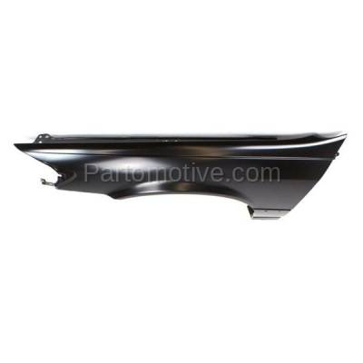 Aftermarket Replacement - FDR-1129LC CAPA 1997-2001 Toyota Camry (CE, LE, XLE) (USA & Japan Built) Front Fender Quarter Panel (with Molding Holes) Steel Left Driver Side - Image 2