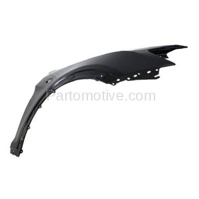 Aftermarket Replacement - FDR-1817RC CAPA 2011-2017 BMW X3 & 2015-2018 X4 2.0L & 2.5L & 3.0L Front Fender Quarter Panel (with Side Molding Holes) Steel Right Passenger Side - Image 2