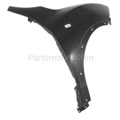 Aftermarket Replacement - FDR-1413RC CAPA 2011-2012 Nissan Juke (1.6 Liter Turbocharged Engine) Front Fender Quarter Panel (with Turn Signal Lamp and Flare Holes) Right Passenger Side - Image 2