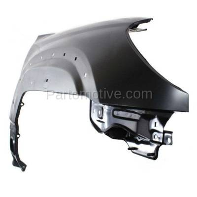 Aftermarket Replacement - FDR-1017RC CAPA 2006-2009 Toyota 4Runner (Limited, Sport, SR5) Front Fender Quarter Panel (with Mudguard Provision) Steel Right Passenger Side - Image 2