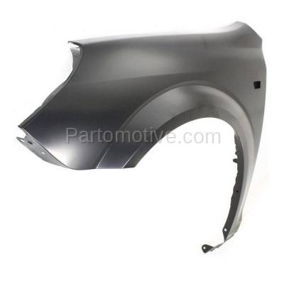 Aftermarket Replacement - FDR-1089LC CAPA 2007-2009 Saturn Aura (2.4 & 3.5 & 3.6 Liter) Front Fender Quarter Panel (with Turn Signal Light Hole) Steel Left Driver Side - Image 2