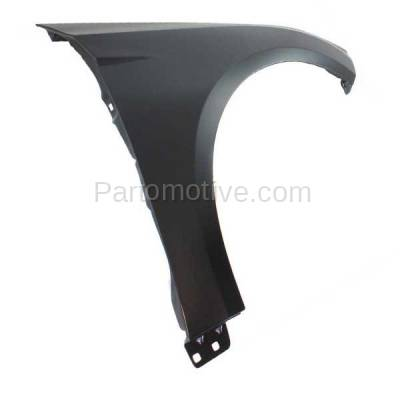Aftermarket Replacement - FDR-1322RC CAPA 2012-2018 Ford Focus (1.0L & 2.0L & 2.3L & Electric) Front Fender Quarter Panel (without Molding Holes) Primed Right Passenger Side - Image 3
