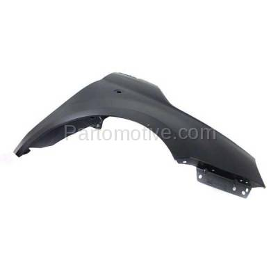 Aftermarket Replacement - FDR-1304RC CAPA 2012-2019 Fiat 500 (1.4L Engine & Electric) (USA Type) Front Fender Quarter Panel (without Molding Holes) Primed Steel Right Passenger Side - Image 3