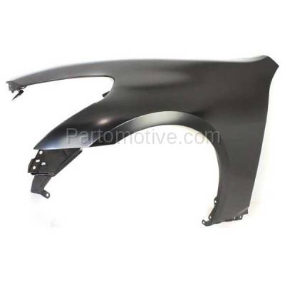 Aftermarket Replacement - FDR-1348LC CAPA 2007-2013 Infiniti G25/G35/G37 & 2015 Q40 (without Sport Package) Front Fender Quarter Panel Primed Steel Left Driver Side - Image 2