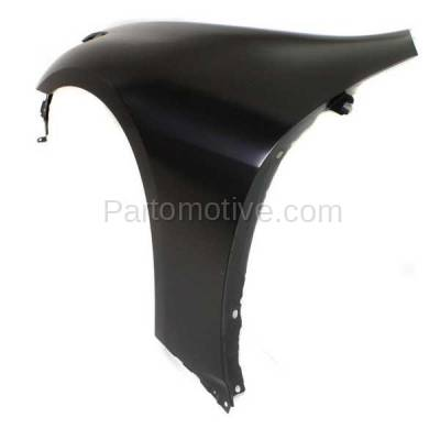 Aftermarket Replacement - FDR-1348LC CAPA 2007-2013 Infiniti G25/G35/G37 & 2015 Q40 (without Sport Package) Front Fender Quarter Panel Primed Steel Left Driver Side - Image 3