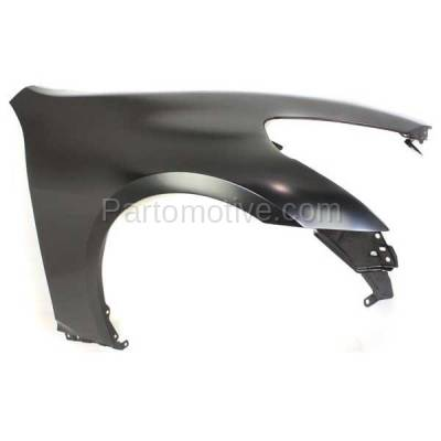 Aftermarket Replacement - FDR-1348RC CAPA 2007-2013 Infiniti G25/G35/G37 & 2015 Q40 (without Sport Package) Front Fender Quarter Panel Primed Steel Right Passenger Side - Image 2