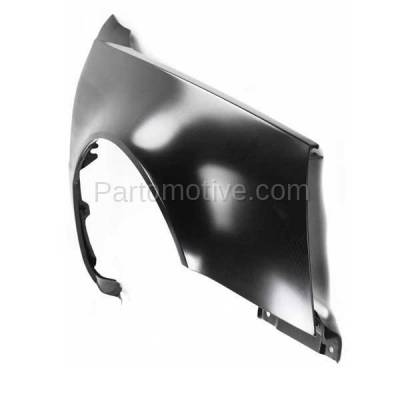 Aftermarket Replacement - FDR-1218RC CAPA 2006-2011 Cadillac DTS (Hearse & Limousine & Sedan 4-Door) 4.6L Front Fender Quarter Panel Primed Steel Right Passenger Side - Image 2