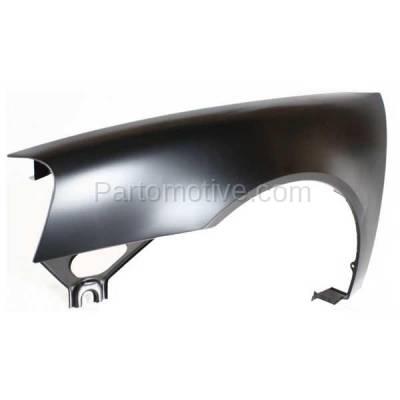 Aftermarket Replacement - FDR-1369LC CAPA 2004-2008 Pontiac Grand Prix (Base, GT, GT1, GT2, GTP) Front Fender Quarter Panel (without Molding Holes) Primed Steel Left Driver Side - Image 2
