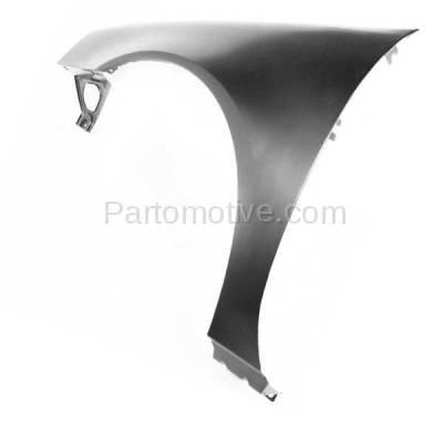 Aftermarket Replacement - FDR-1369LC CAPA 2004-2008 Pontiac Grand Prix (Base, GT, GT1, GT2, GTP) Front Fender Quarter Panel (without Molding Holes) Primed Steel Left Driver Side - Image 3
