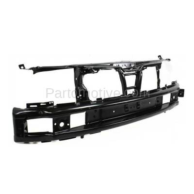 Aftermarket Replacement - RSP-1837 1993-1999 Volkswagen Golf, Jetta & 1995-1999 VW Cabrio (Convertible, Hatchback, Sedan) Front Center Radiator Support Core Assembly Plastic - Image 2