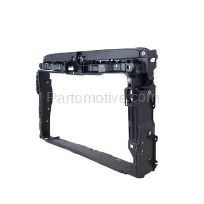 Aftermarket Replacement - RSP-1838 2015-2018 Volkswagen VW e-Golf (Hatchback 4-Door) (Electric) Front Center Radiator Support Core Assembly Primed Made of Plastic - Image 3