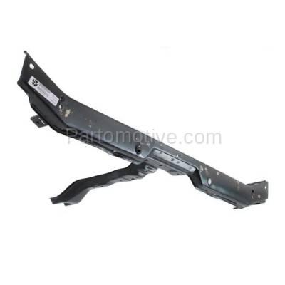 Aftermarket Replacement - RSP-1408 2002-2005 Hyundai Sonata (Base, GL, GLS, LX) Sedan (2.4 & 2.7 Liter Engine) Front Radiator Support Upper Crossmember Tie Bar Steel - Image 2