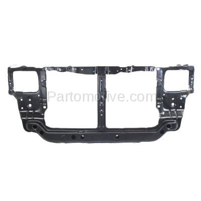 Aftermarket Replacement - RSP-1383 2000-2002 Hyundai Accent (GL, GS, L) (1.5L & 1.6L) (with Automatic Transmission) Front Radiator Support Core Assembly Primed Steel - Image 1