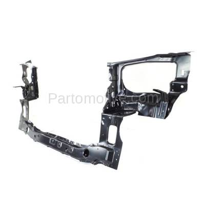Aftermarket Replacement - RSP-1402 2002-2006 Hyundai Santa Fe (Base, GL, GLS, Limited, LX) Front Radiator Support Lower Crossmember Tie Bar Primed Made of Steel - Image 3