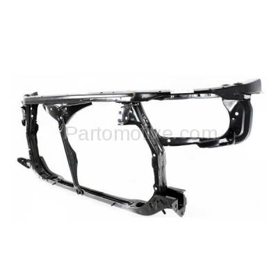 Aftermarket Replacement - RSP-1739 1992-1996 Toyota Camry (Coupe & Sedan & Wagon) (2.2 & 3.0 Liter Engine) Front Center Radiator Support Core Assembly Primed Steel - Image 3