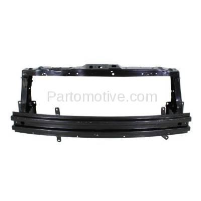 Aftermarket Replacement - RSP-1316 2013-2015 Chevrolet Spark (LS, LT) Hatchback 4-Door (1.2 Liter Engine) (without EV) Front Radiator Support Core Assembly Primed Steel - Image 1