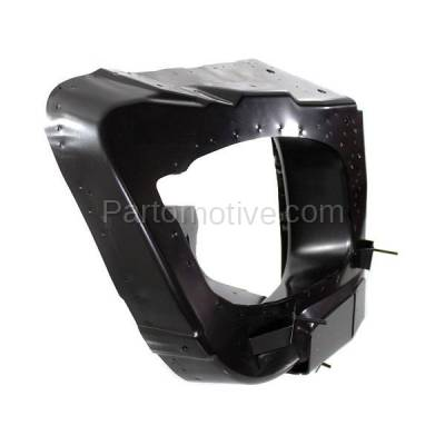 Aftermarket Replacement - RSP-1539R 1998-1999 Mercedes-Benz ML-Class ML320/ML430 Front Radiator Support Side Bracket Brace Panel Primed Made of Steel Right Passenger Side - Image 3