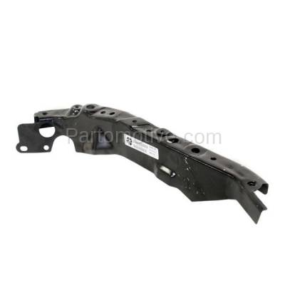 Aftermarket Replacement - RSP-1591RC CAPA 2007-2009 Nissan Altima & 2009-2014 Maxima Front Radiator Support Side Bracket Brace Panel Primed Made of Steel Right Passenger Side - Image 2