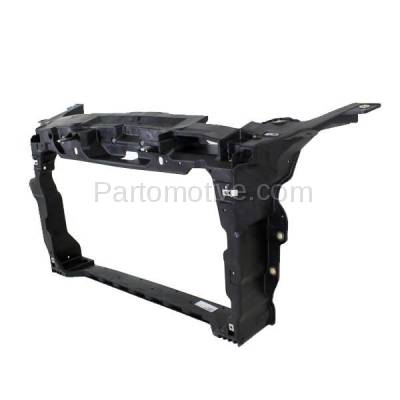 Aftermarket Replacement - RSP-1221C CAPA 2010-2018 Ford Taurus, 2013-2018 Police (Special Service & Interceptor) & 2013-2016 Lincoln MKS Front Radiator Support Core Assembly - Image 2
