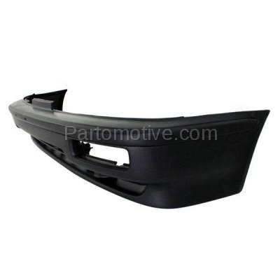 Aftermarket Replacement - BUC-1000F 90-91 Integra Front Bumper Cover Assembly Primed w/Fog AC1000110 71101SK7305ZZ - Image 2