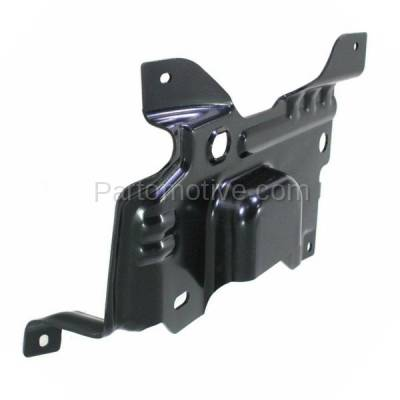 Aftermarket Replacement - BBK-1142L 2009-2014 Ford F150 Lightduty Pickup Truck Front Bumper Face Bar Retainer Mounting Plate Brace Bracket Made of Steel Left Driver Side - Image 2