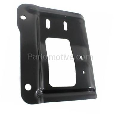 Aftermarket Replacement - BBK-1155L 2011-2016 Ford F250/F350/F450/F550 Super Duty Pickup Truck Front Bumper Face Bar Retainer Mounting Plate Bracket Left Driver Side - Image 2
