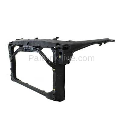 Aftermarket Replacement - RSP-1204 2010-2012 Ford Fusion Sport & Lincoln MKZ (Sedan 4-Door) (3.5 Liter V6 Engine) Front Radiator Support Core Assembly Primed Plastic - Image 2