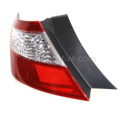 Aftermarket Auto Parts - TLT-1375LC CAPA 09-11 Civic Coupe Taillight Taillamp Rear Brake Light Lamp Driver Side LH - Image 2