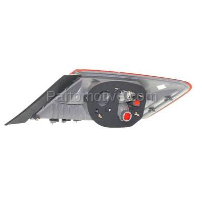 Aftermarket Auto Parts - TLT-1375LC CAPA 09-11 Civic Coupe Taillight Taillamp Rear Brake Light Lamp Driver Side LH - Image 3