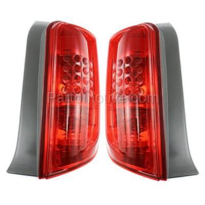 Aftermarket Auto Parts - TLT-1367LC & TLT-1367RC CAPA 08-10 Scion XB X B Taillight Taillamp Brake Light Lamp Left Right Set PAIR - Image 2