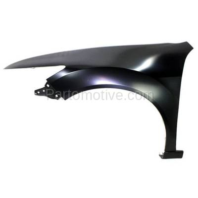 Aftermarket Replacement - FDR-1782LC CAPA 2009-2014 Acura TSX (Sedan & Wagon 4-Door) (2.4L 3.5L 4Cyl/6Cyl Engine) Front Fender Quarter Panel Primed Steel Left Driver Side - Image 1