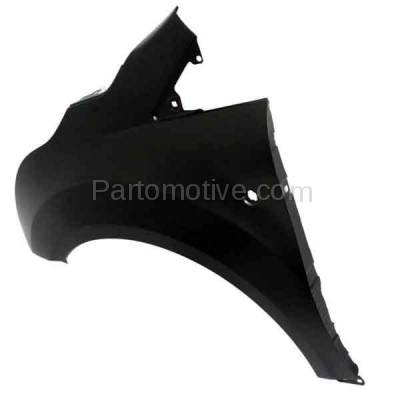 Aftermarket Replacement - FDR-1776LC CAPA 2014-2019 Ford Transit Connect (1.6L & 2.0L & 2.5L) Front Fender Quarter Panel (with Turn Signal Light & Molding Holes) Steel Left Driver Side - Image 3
