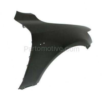 Aftermarket Replacement - FDR-1404R 2014-2020 Lexus IS200T IS250 IS300 IS350 (For Models with F-Sport Package) Front Fender Quarter Panel Primed Steel Right Passenger Side - Image 2
