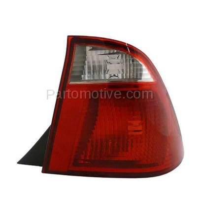 Aftermarket Replacement - TLT-1210R 05-07 Focus Sedan Taillight Taillamp Rear Brake Light Lamp Right Passenger Side - Image 1