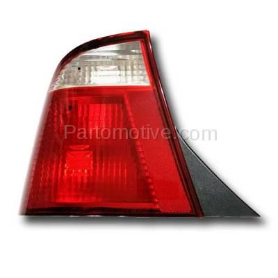 Aftermarket Auto Parts - TLT-1210LC CAPA 05-07 Ford Focus Sedan Taillight Taillamp Rear Brake Light Lamp Driver Side - Image 2