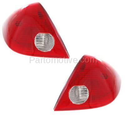 Aftermarket Auto Parts - TLT-1372LC & TLT-1372RC CAPA 05-10 Pontiac G6 Sedan Taillight Taillamp Brake Light Lamp Left & Right Set - Image 2