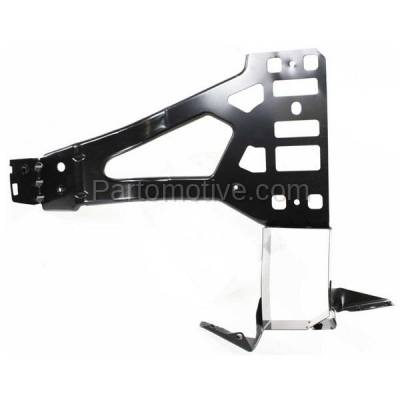 Aftermarket Replacement - RSP-1044R 2004-2010 BMW 5-Series (Sedan & Wagon 4-Door) Front Radiator Support Core Bracket Panel Primed Made of Steel Right Passenger Side - Image 1