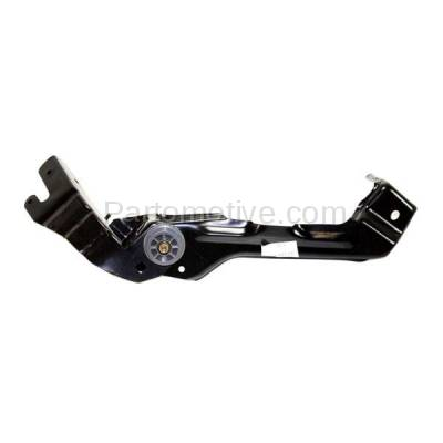 Aftermarket Replacement - RSP-1525L 2003-2009 Mercedes-Benz E-Class (Sedan & Wagon 4-Door) Front Radiator Support Outer Side Bracket Brace Panel Left Driver Side - Image 1