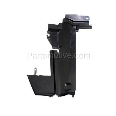 Aftermarket Replacement - RSP-1647R 2007-2012 Nissan Versa (1.6, 1.6 Base, 1.8 S, 1.8 SL, S, SL) Radiator Support Side Air Duct Primed Made of Steel Right Passenger Side - Image 1