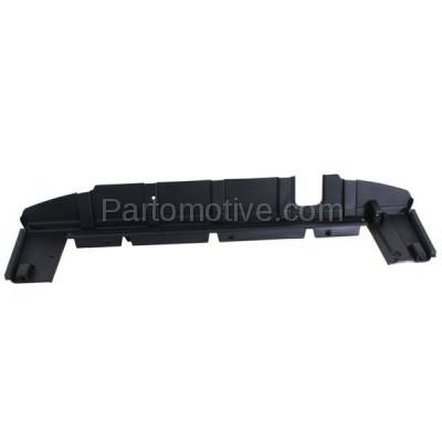 Aftermarket Replacement - RSP-1257 2010- 2017 Chevrolet Equinox & GMC Terrain (2.4 & 3.0 & 3.6 Liter Engine) Radiator Support Lower Air Deflector Frame Panel Primed Plastic - Image 1