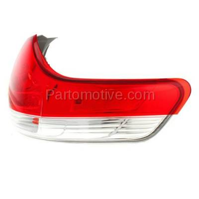 Aftermarket Auto Parts - TLT-1630RC CAPA 11-13 Sienna Taillight Taillamp Rear Brake Outer Light Lamp Passenger Side - Image 2