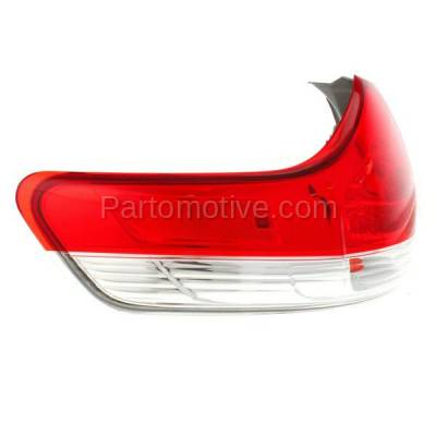 Aftermarket Auto Parts - TLT-1630LC CAPA 11-13 Sienna Taillight Taillamp Rear Brake Outer Light Lamp Driver Side LH - Image 2