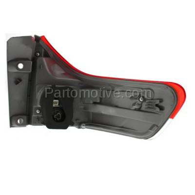 Aftermarket Auto Parts - TLT-1630LC CAPA 11-13 Sienna Taillight Taillamp Rear Brake Outer Light Lamp Driver Side LH - Image 3